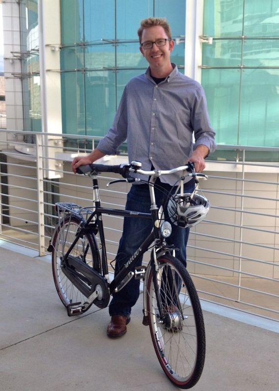 Colin Heyne, Primary Media Contact.  Deputy Director of Silicon Valley Bicycle Coaltion.
