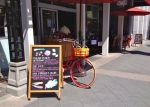 The ride ends with ice cream and/or sandwiches at Ava's Market, which has outdoor seating on Castro Street.