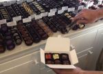 When we get to Willow Glen, I hitting Mariette Chocolates first. Their sea salt caramel chocolates are divine.